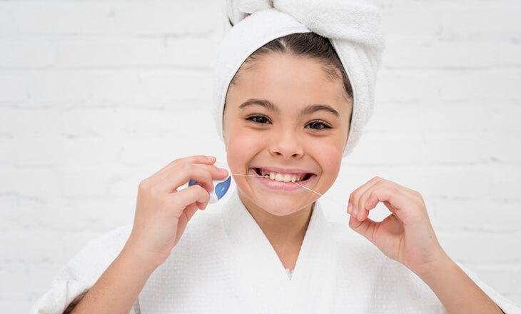 ผลิตภัณฑ์ทำความสะอาดเพิ่มเติม - ไหมขัดฟัน